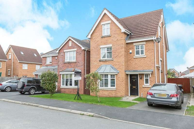 4 Bedrooms Detached House for sale in Weavermill Park, Ashton-In-Makerfield, Wigan, WN4