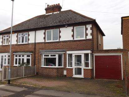 3 Bedrooms Semi Detached House for sale in Cyril Road, West Bridgford, Nottingham, Nottinghamshire