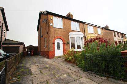 3 Bedrooms Semi Detached House for sale in Lammack Road, Blackburn, Lancashire, BB1