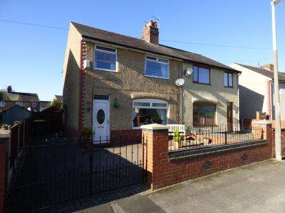 3 Bedrooms Semi Detached House for sale in Moorcroft Crescent, Ribbleton, Preston, Lancashire, PR2