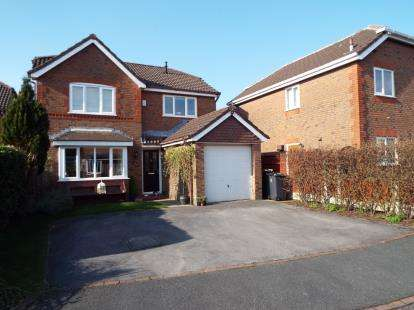 4 Bedrooms Detached House for sale in Heatherway, Fulwood, Preston, Lancashire, PR2