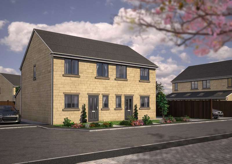3 Bedrooms Semi Detached House for sale in 2 Delf Hill Close, Low Moor, Bradford, BD12 0AJ