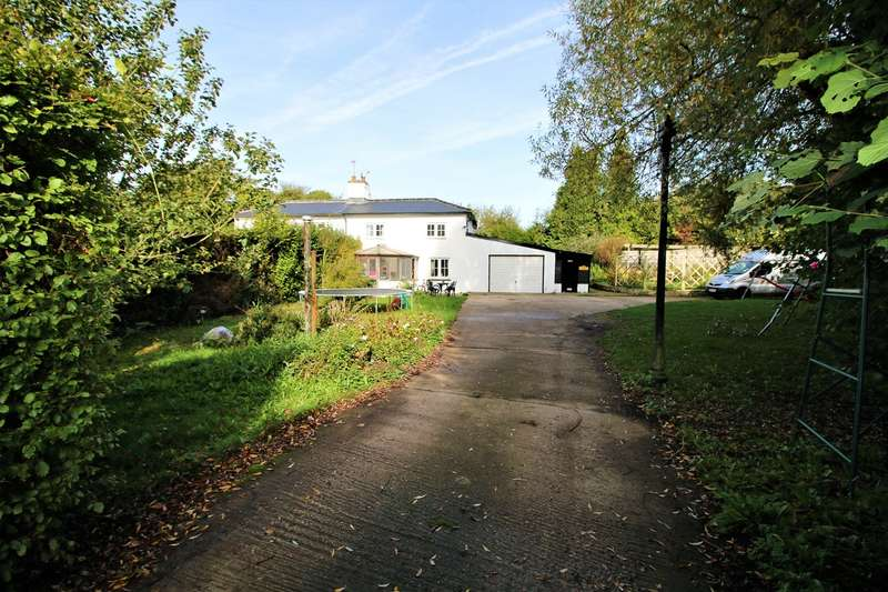 3 Bedrooms Semi Detached House for sale in Old Kempshott Lane, Basingstoke, RG22