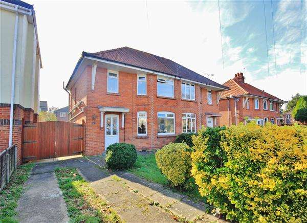 3 Bedrooms Semi Detached House for sale in Cynthia Road, Poole