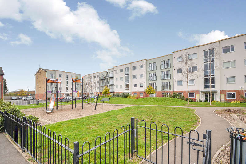 2 Bedrooms Flat for sale in Onyx Crescent, Leicester, LE4