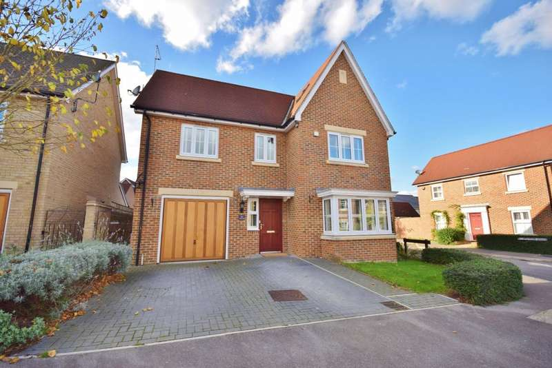 5 Bedrooms Detached House for sale in Sherfield Park, Hook, RG27