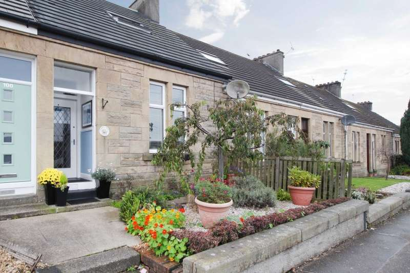 3 Bedrooms Terraced House for sale in Glasgow Road, Denny, FK6 5DN