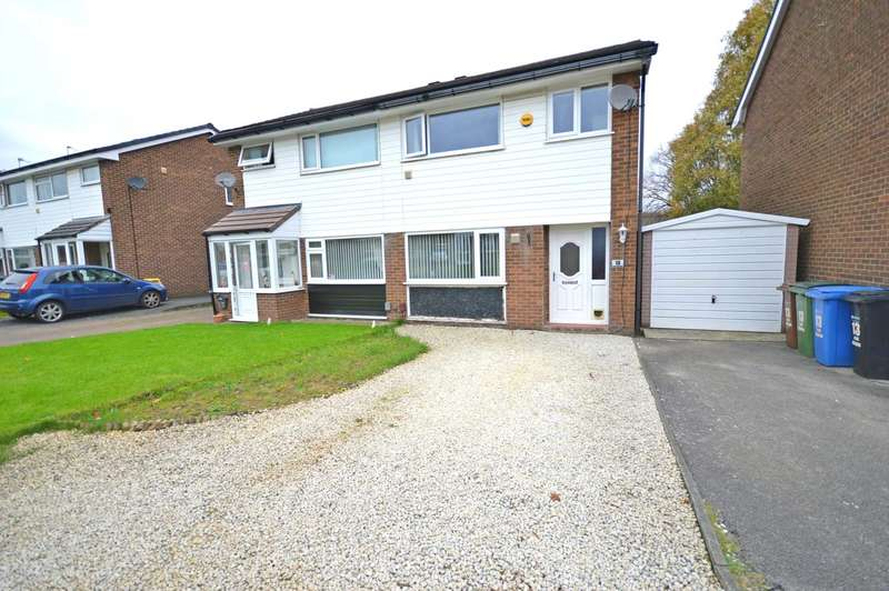 3 Bedrooms Semi Detached House for sale in High Meadow, Cheadle Hulme