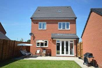 4 Bedrooms Detached House for sale in Higher Croft Drive, Coppenhall, CW1 4FT