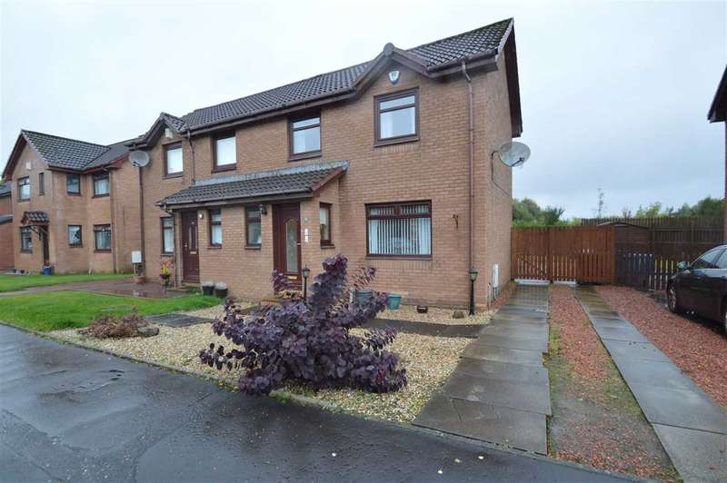 3 Bedrooms Semi Detached House for sale in Meikle Crescent, Hamilton