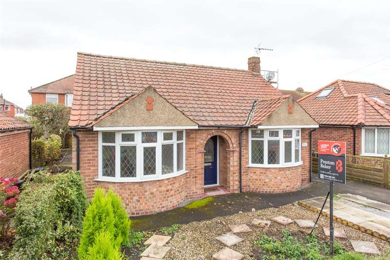 2 Bedrooms Detached Bungalow for sale in Bedale Avenue, York, YO10