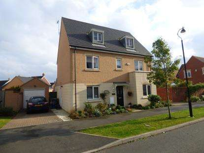 5 Bedrooms Detached House for sale in Norman Snow Way, Duston, Northampton, Northamptonshire