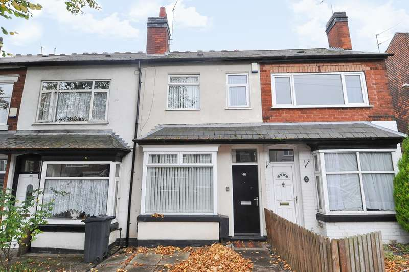 3 Bedrooms Terraced House for sale in Gristhorpe Road, Selly Oak, Birmingham, B29