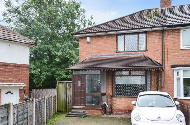 3 Bedrooms End Of Terrace House for sale in Copston Grove, Weoley Castle, Birmingham, B29