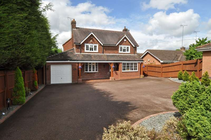 4 Bedrooms Detached House for sale in Icknield Street, Church Hill North, Redditch, B98