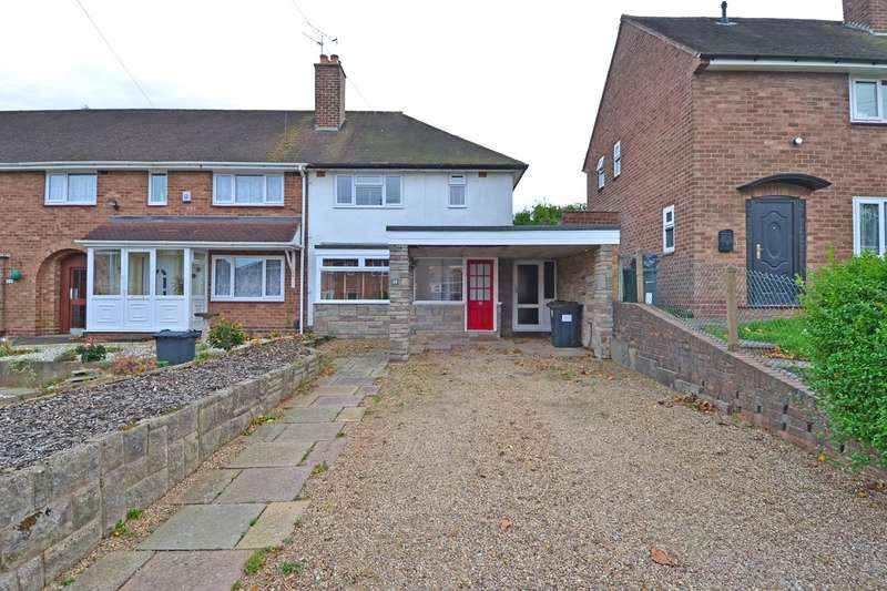 2 Bedrooms End Of Terrace House for sale in Belton Grove, Rednal, Birmingham, B45
