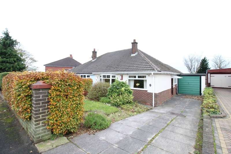2 Bedrooms Semi Detached Bungalow for sale in Netherhouse Road, Shaw, Oldham, OL2