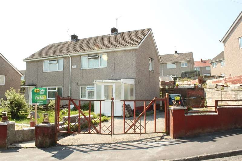 2 Bedrooms Semi Detached House for sale in Lon Camlad, Morriston, Swansea