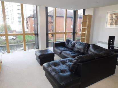 2 Bedrooms Flat for sale in Canal Wharf, 18 Waterfront Walk, Birmingham, West Midlands