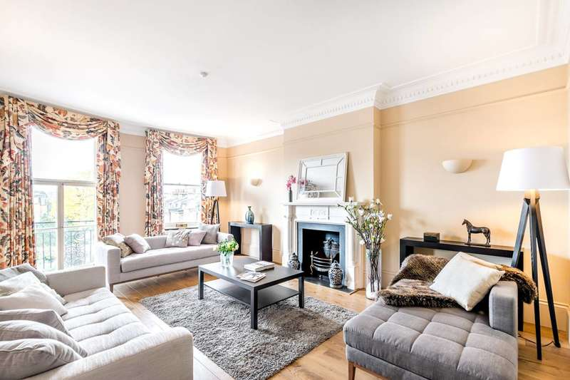 3 Bedrooms Flat for sale in Marloes Road, Kensington, W8