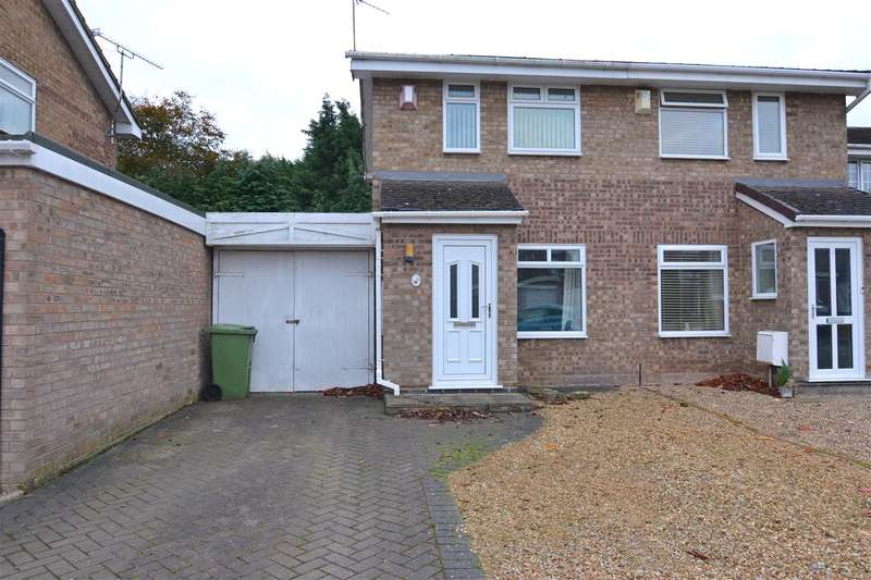 2 Bedrooms Semi Detached House for sale in St Lawrence Way, Gnosall