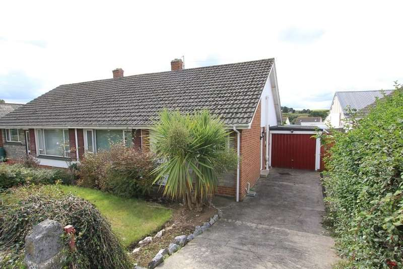 2 Bedrooms Semi Detached Bungalow for sale in Lyn Grove, Kingskerswell