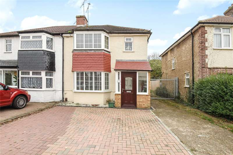 3 Bedrooms Semi Detached House for sale in Lea Crescent, Ruislip, Middlesex, HA4