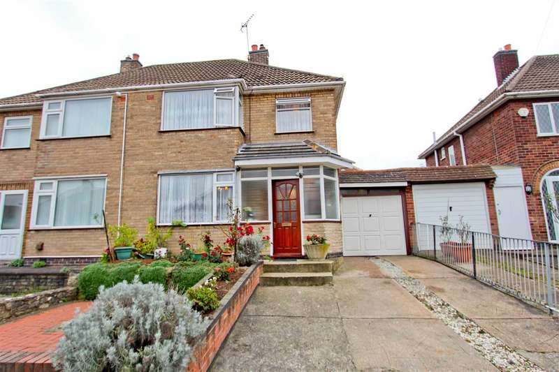 3 Bedrooms Semi Detached House for sale in Plymouth Drive, Leicester
