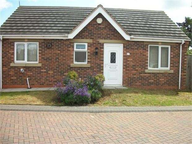 2 Bedrooms Detached Bungalow for sale in Thornwood Court, Thurnscoe, Rotherham, South Yorkshire. S63 0LL