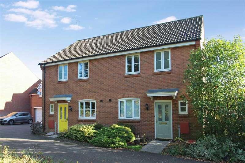 3 Bedrooms Semi Detached House for sale in Halls Drift, Grange Farm, Kesgrave, Ipswich