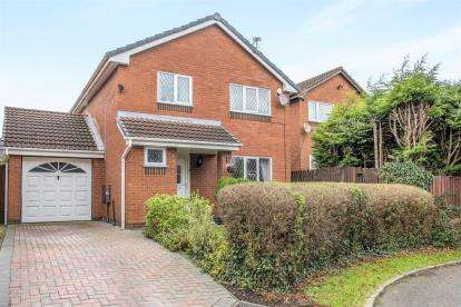 3 Bedrooms Detached House for sale in Westhay Crescent, Birchwood, Warrington, Cheshire