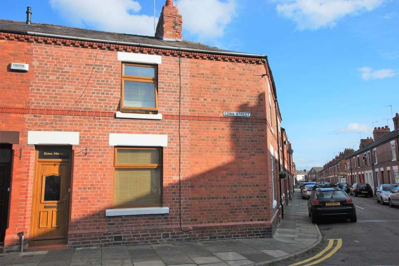 2 Bedrooms End Of Terrace House for sale in Edna Street, Hoole
