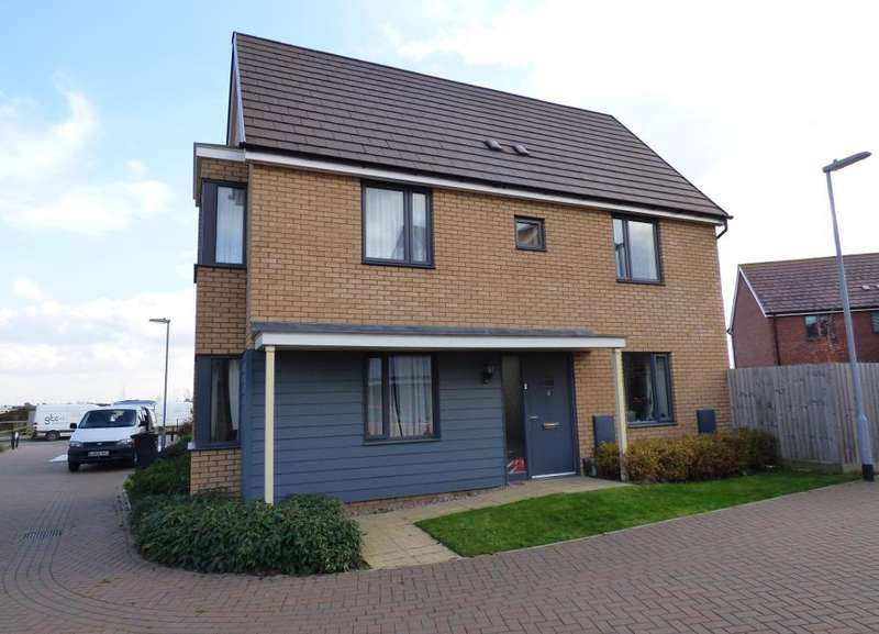 3 Bedrooms Detached House for sale in Folkes Road, Wootton, Bedfordshire, MK43 9BX