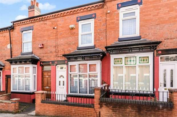 3 Bedrooms Terraced House for sale in Avondale Road, Birmingham, West Midlands