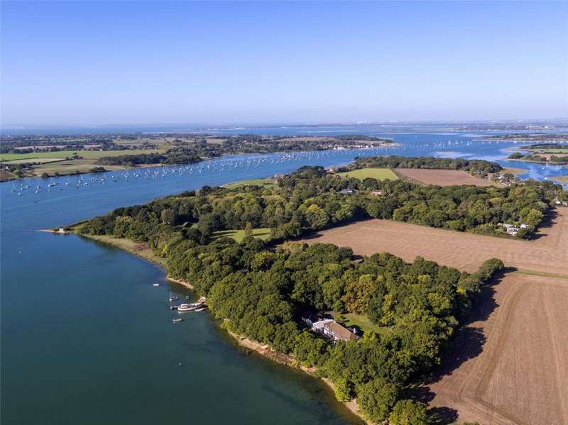 7 Bedrooms Detached House for sale in Bosham Hoe, Bosham, Chichester, West Sussex, PO18