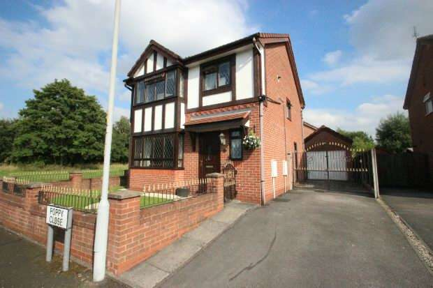 3 Bedrooms Detached House for sale in Poppy Close, Manchester