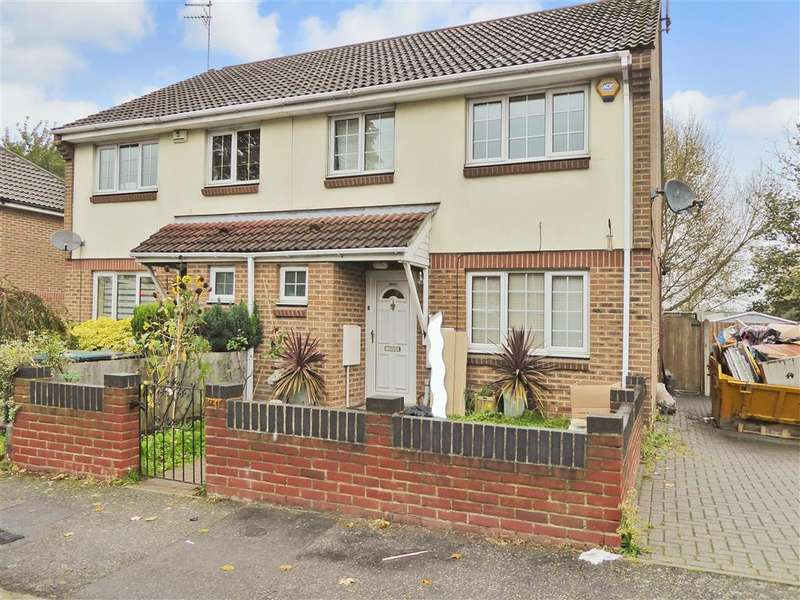 3 Bedrooms Semi Detached House for sale in Haldane Gardens, Gravesend, Kent