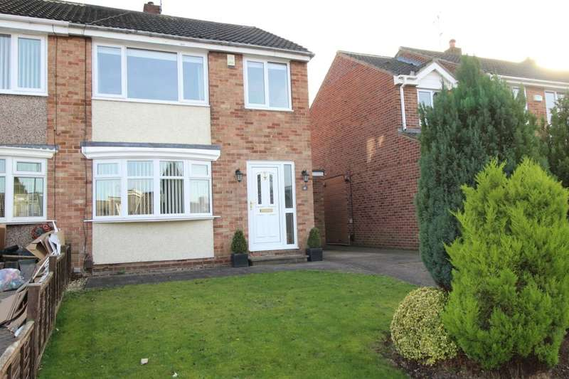 3 Bedrooms Semi Detached House for sale in Bexley Drive, Normanby, Middlesbrough, TS6