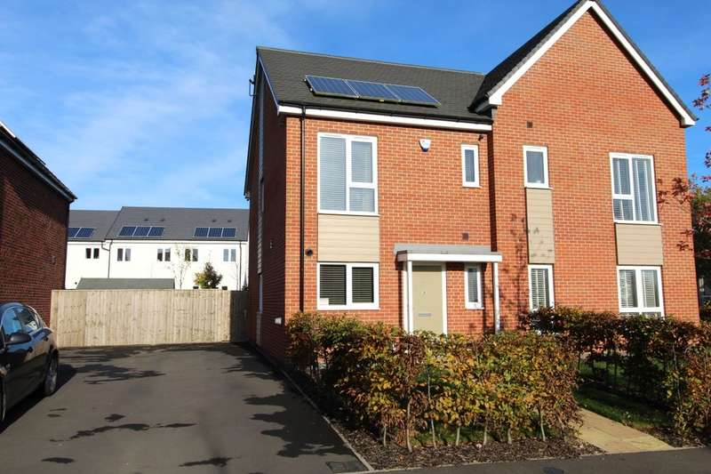3 Bedrooms Semi Detached House for sale in Hemlock Road, Coalville, LE67