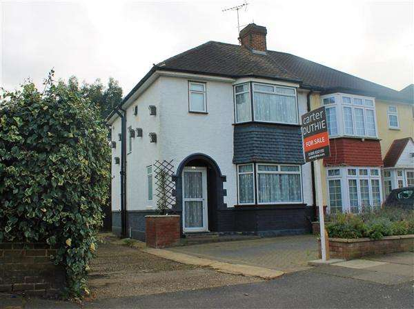 3 Bedrooms Semi Detached House for sale in Clyfford Road, Ruislip