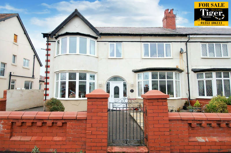 4 Bedrooms Semi Detached House for sale in St Stephens Avenue, Blackpool