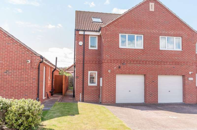 3 Bedrooms Semi Detached House for sale in Westerdale Road, Scawsby, Doncaster, DN5