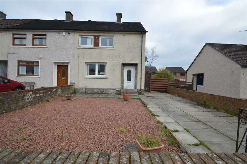 2 Bedrooms End Of Terrace House for sale in Waverley Street, Larkhall