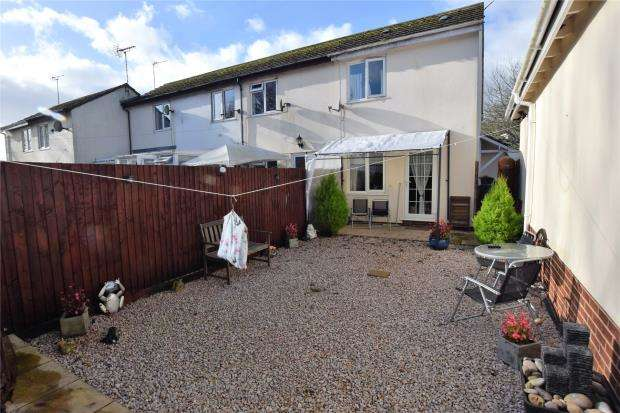 1 Bedroom End Of Terrace House for sale in Venford Close, Hookhills, Paignton, Devon