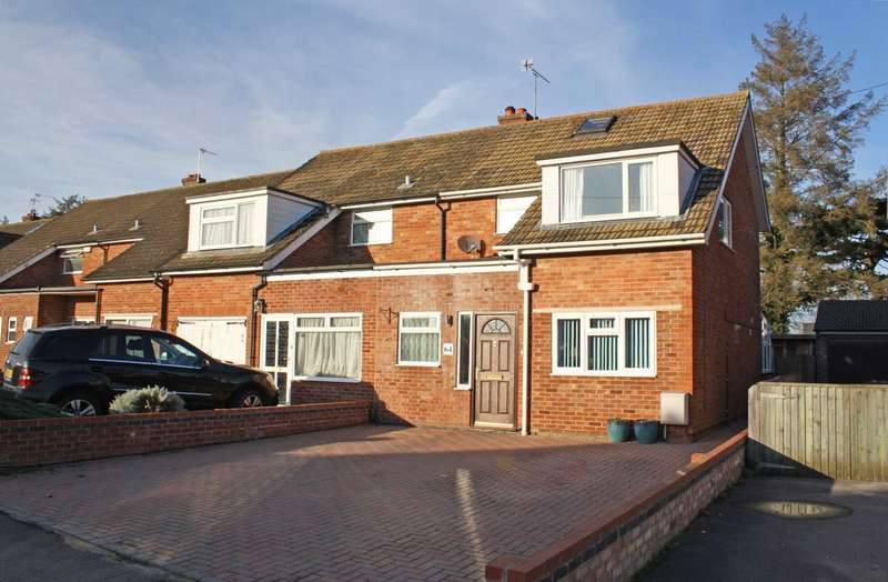 3 Bedrooms Semi Detached House for sale in Freeman Road, Didcot