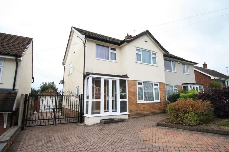 3 Bedrooms Semi Detached House for sale in Abbotsford Avenue, Birmingham, West Midlands, B43