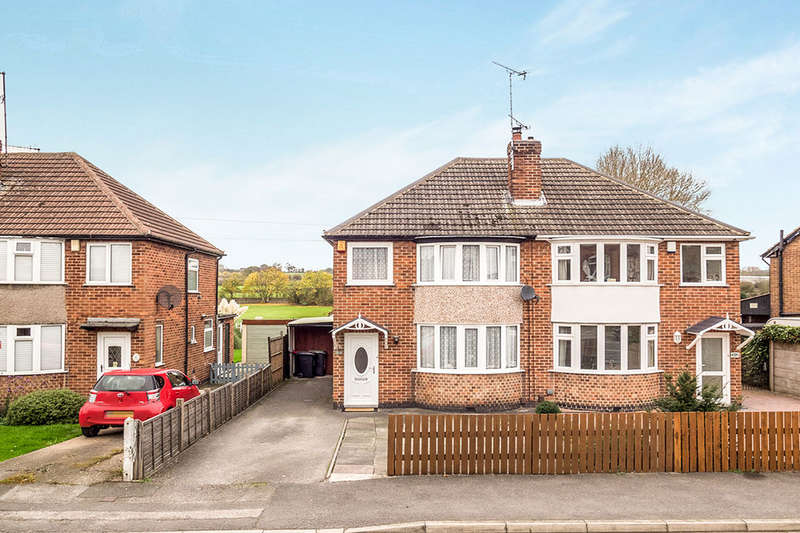 3 Bedrooms Semi Detached House for sale in Greenhills Road, Eastwood, Nottingham, NG16