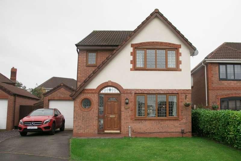 3 Bedrooms Detached House for sale in Millcombe Way, Walton-Le-Dale, Preston, PR5