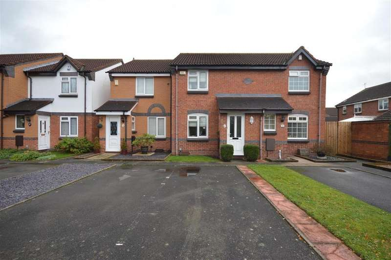 2 Bedrooms Terraced House for sale in Elford Grove, Marston Green
