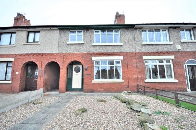 3 Bedrooms Terraced House for sale in Devon Avenue, Fleetwood, Lancashire, FY7 7EQ
